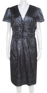 Metallic Maxi Dress by Burberry Polyester