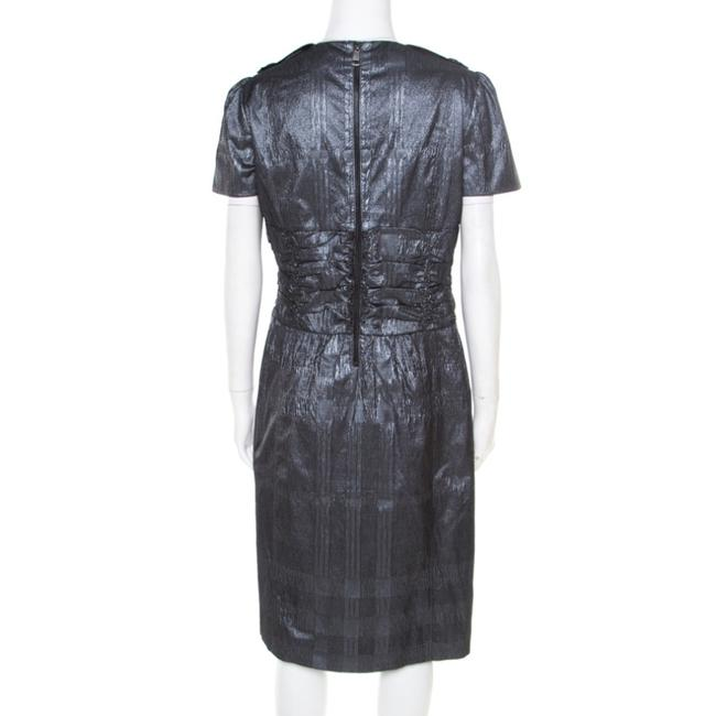 Metallic Maxi Dress by Burberry Polyester Image 1