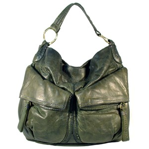 49 Square Miles Slouchy Italian Leather Hobo Bag