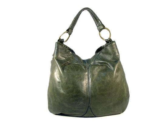 49 Square Miles Slouchy Italian Leather Hobo Bag Image 1