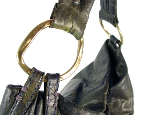 49 Square Miles Slouchy Italian Leather Hobo Bag Image 3