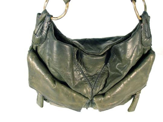 49 Square Miles Slouchy Italian Leather Hobo Bag Image 5
