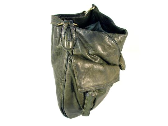 49 Square Miles Slouchy Italian Leather Hobo Bag Image 6