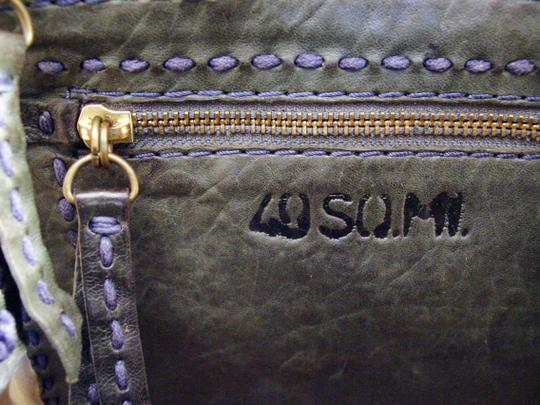 49 Square Miles Slouchy Italian Leather Hobo Bag Image 8