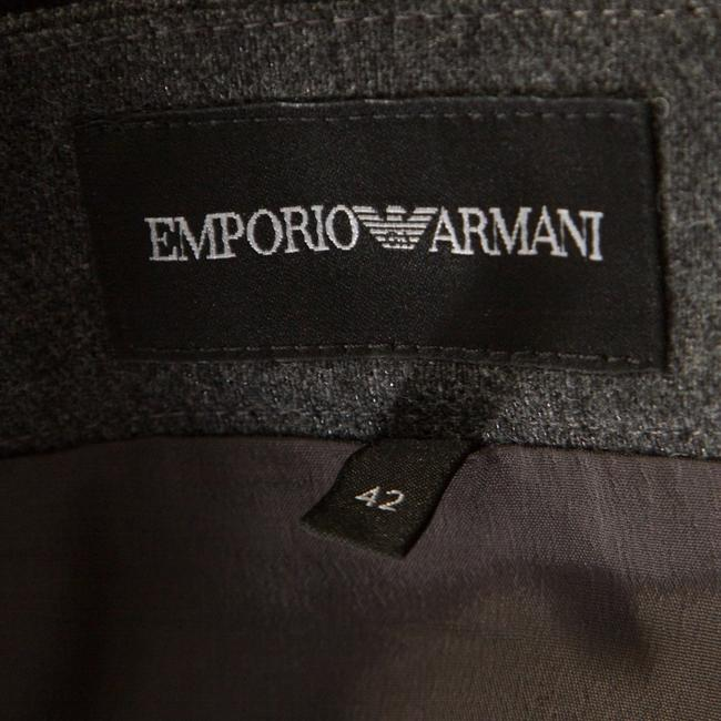 Emporio Armani Draped Knit Skirt Grey Image 5