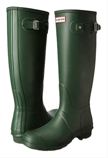 Hunter Green Boots Image 0