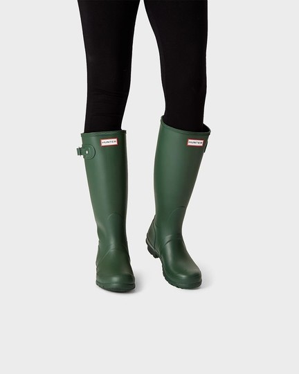 Hunter Green Boots Image 1