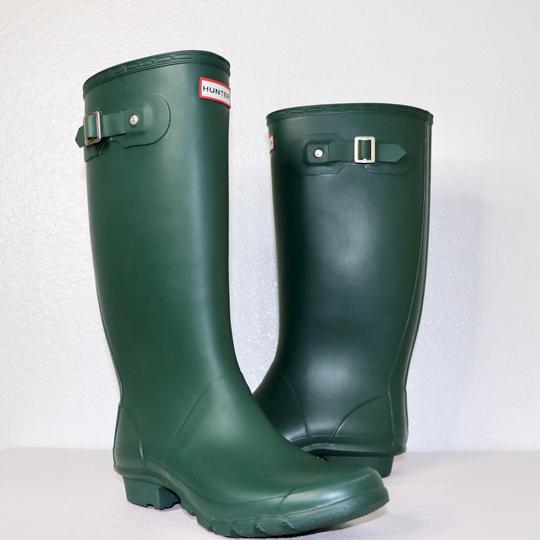 Hunter Green Boots Image 3