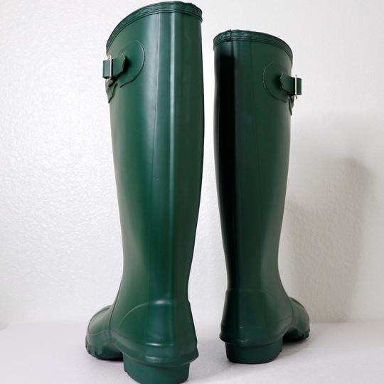 Hunter Green Boots Image 5