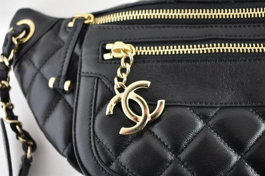 Chanel Shoulder Crossbody Classic Minaudiere Box black Messenger Bag Image 2