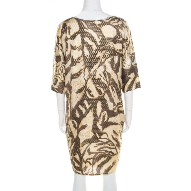 Brown Maxi Dress by Emilio Pucci Silk Longsleeve Image 1