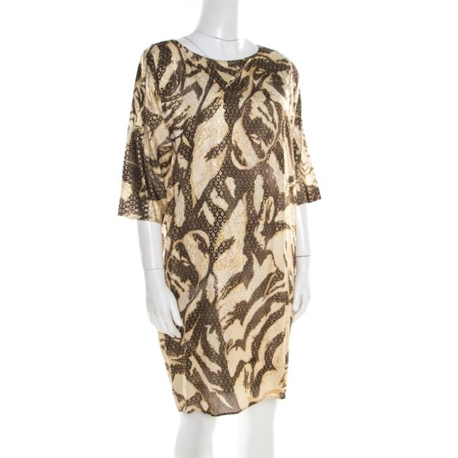 Brown Maxi Dress by Emilio Pucci Silk Longsleeve Image 2