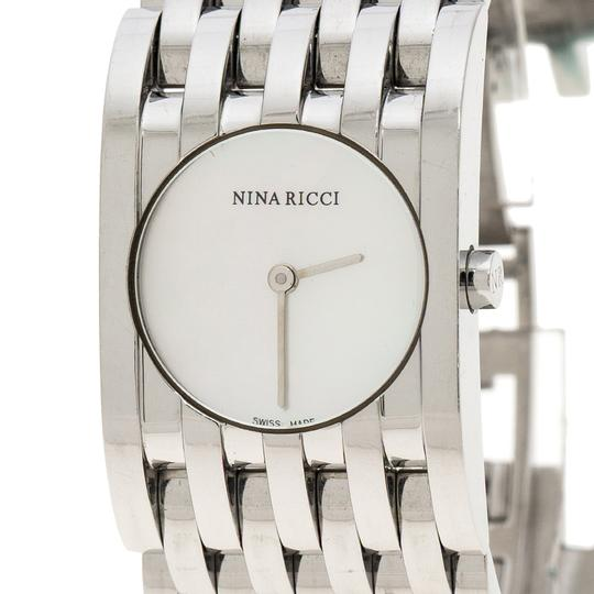 Nina Ricci White Mother of Pearl Stainless Steel N000113 Women's Wristwatch 25 mm Image 2