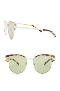 Karen Walker Felipe 57mm Clubmaster Sunglasses