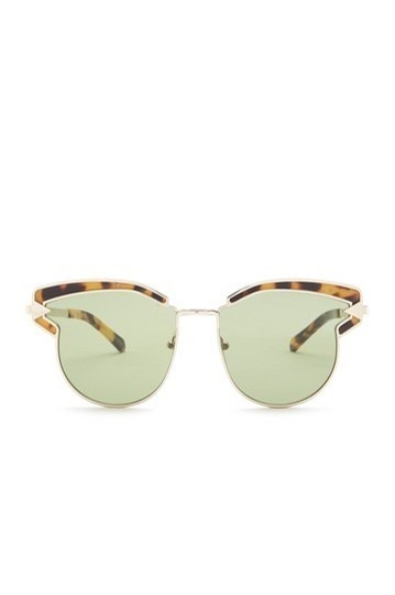 Karen Walker Felipe 57mm Clubmaster Sunglasses Image 1