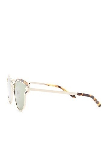 Karen Walker Felipe 57mm Clubmaster Sunglasses Image 2