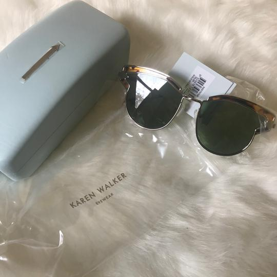 Karen Walker Felipe 57mm Clubmaster Sunglasses Image 4