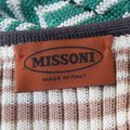 Missoni Perforated Knit Scalloped Top Multicolor Image 4