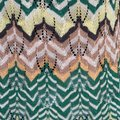 Missoni Perforated Knit Scalloped Top Multicolor Image 6