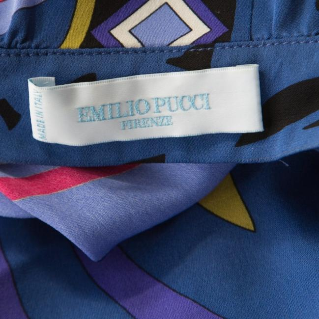 Multicolor Maxi Dress by Emilio Pucci Silk Embellished Belted Image 6