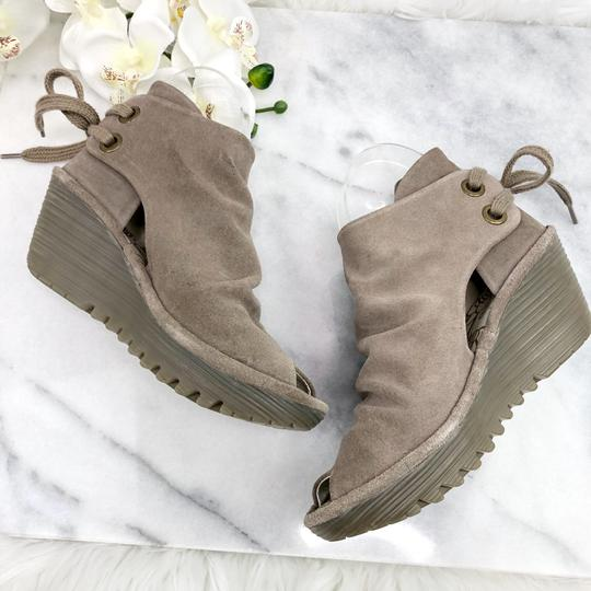 FLY London Taupe Boots Image 2