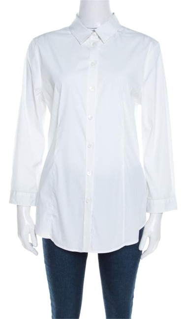 Preload https://img-static.tradesy.com/item/26283835/burberry-white-london-stretch-cotton-long-sleeve-button-front-shirt-m-blouse-size-10-m-0-1-650-650.jpg