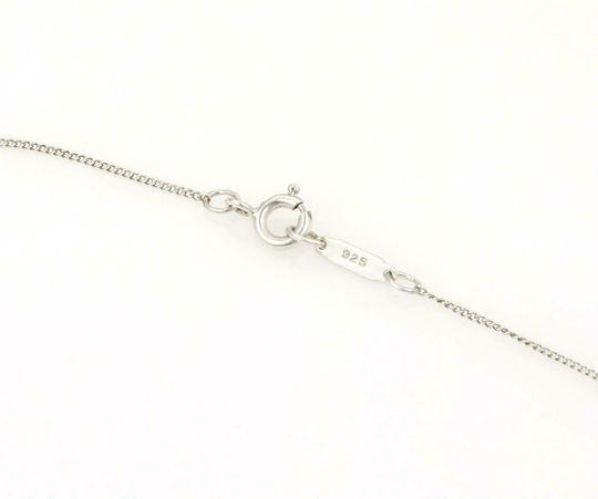 Tiffany Vintage 925 Sterling 18k Yellow Gold Love Knot Pendant Necklace Image 3