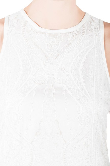Roberto Cavalli Silk Viscose Top White Image 2