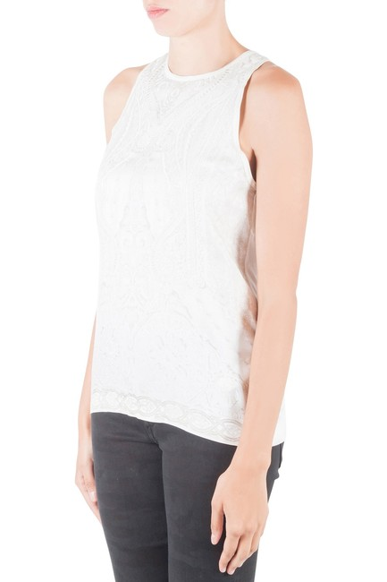 Roberto Cavalli Silk Viscose Top White Image 3