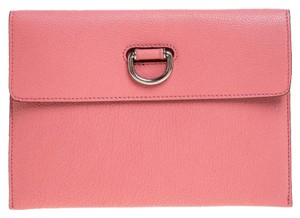 Burberry Leather Pink Clutch