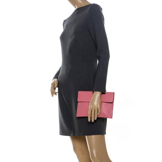 Burberry Leather Pink Clutch Image 2
