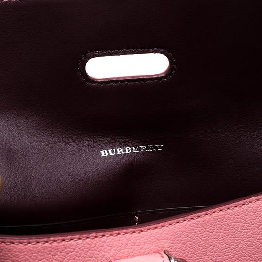 Burberry Leather Pink Clutch Image 6