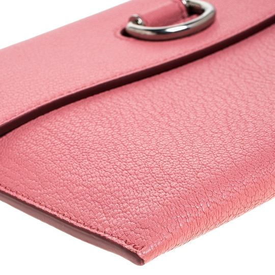 Burberry Leather Pink Clutch Image 7