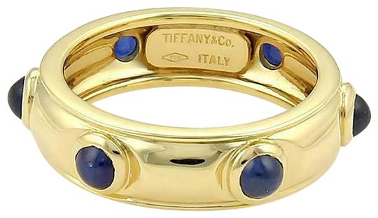 Preload https://img-static.tradesy.com/item/26283907/tiffany-and-co-61397-cabochon-sapphire-18k-yellow-gold-dome-band-ring-0-1-540-540.jpg