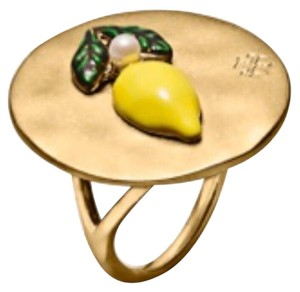 Tory Burch nwot tory burch le,on coin ring