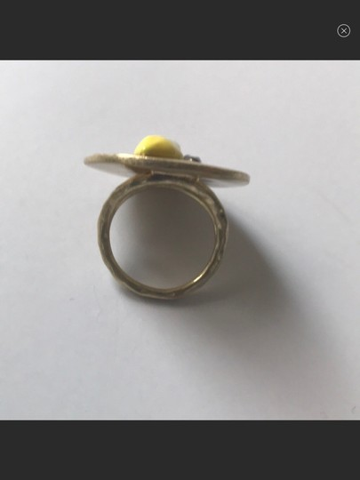 Tory Burch nwot tory burch le,on coin ring Image 5
