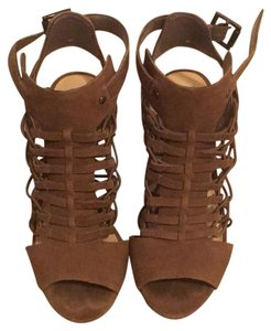 Vince Camuto taupe/brown Sandals