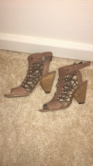 Vince Camuto taupe/brown Sandals Image 1