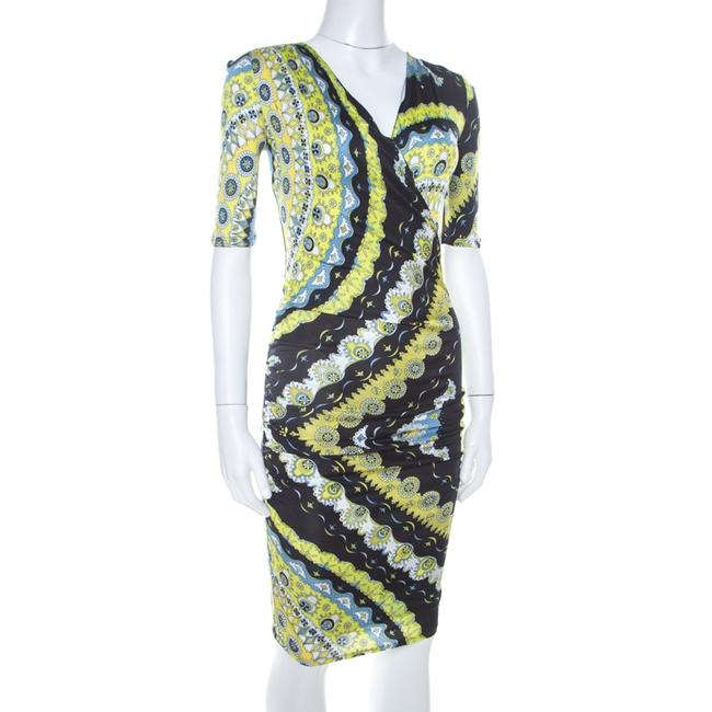 Multicolor Maxi Dress by Emilio Pucci Stretchy Plunge Image 2