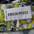 Multicolor Maxi Dress by Emilio Pucci Stretchy Plunge Image 4