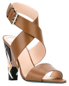 Item - Brown Beyond Bird Of Paradise Leather Sandals