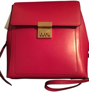 Michael Kors Boredeaux Leather Backpack