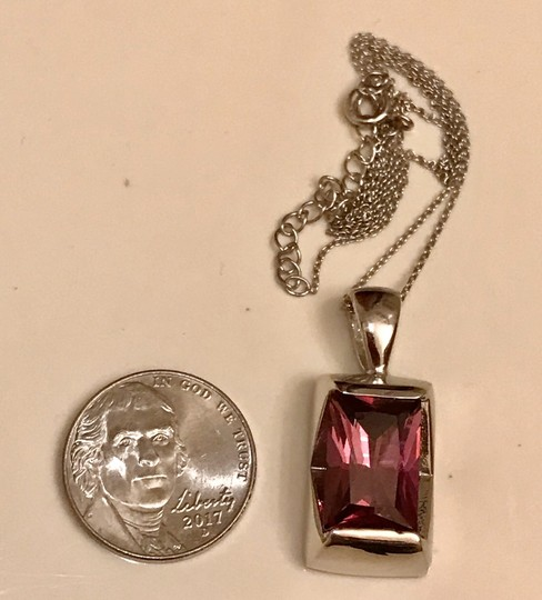 Lab Created Amethyst Pendant In Sterling Silver Amethyst Pendant in Sterling Silver Image 2