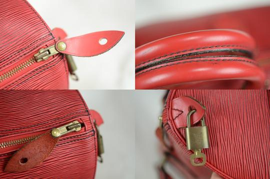 Louis Vuitton Lv Epi Speedy Neverfull Tote in Red Image 1
