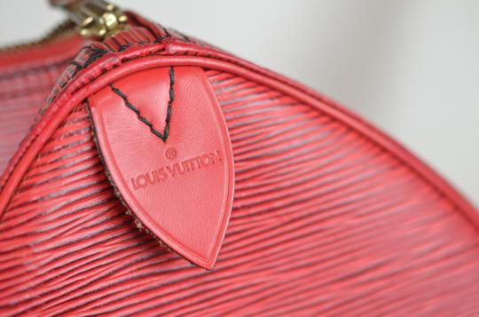Louis Vuitton Lv Epi Speedy Neverfull Tote in Red Image 10