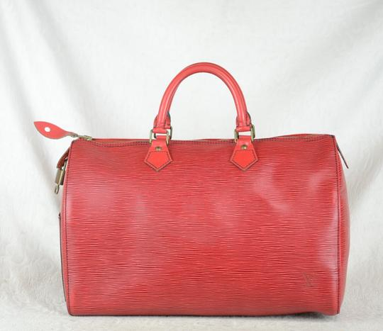 Louis Vuitton Lv Epi Speedy Neverfull Tote in Red Image 3