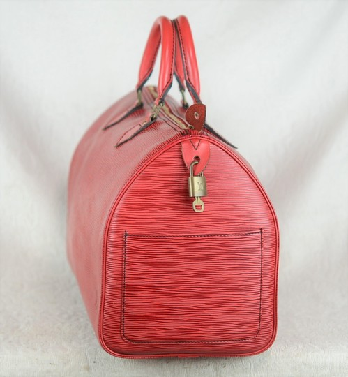 Louis Vuitton Lv Epi Speedy Neverfull Tote in Red Image 4