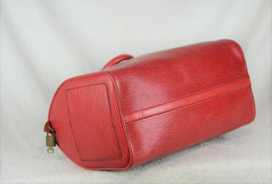 Louis Vuitton Lv Epi Speedy Neverfull Tote in Red Image 5