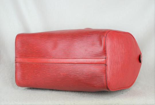 Louis Vuitton Lv Epi Speedy Neverfull Tote in Red Image 6