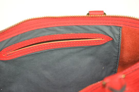 Louis Vuitton Lv Epi Speedy Neverfull Tote in Red Image 8